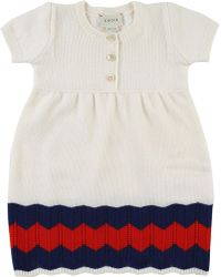 Gucci Baby Dress For Girls On Sale - White