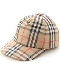 Burberry Sombrero de Mujer - Neutro