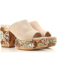 Paloma Barceló - Wedges For Women On Sale In Outlet - Lyst