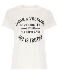 Zadig & Voltaire - Camiseta de Mujer - Lyst