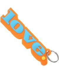 Marc Jacobs Key Chain For Women - Orange