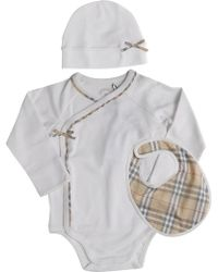 Burberry Baby Sets For Girls On Sale - Multicolor