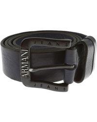 Armani Jeans - Belts On Sale - Lyst
