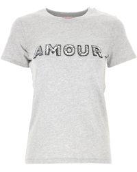 Sun68 - T-Shirt Donna - Lyst