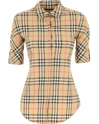 Burberry Womens Clothing - Natural