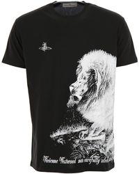 Vivienne Westwood - Contrast Print T-shirt - Lyst