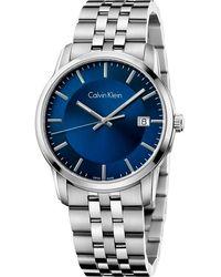Calvin Klein Reloj para Hombre - Metálico