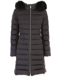 Add Down Jacket For Women - Black