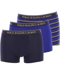 Ralph Lauren Caleçon Boxer Homme - Bleu