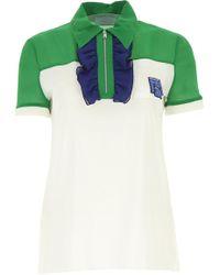 5a72222e6c2ce Prada - T-Shirts für Damen - Lyst
