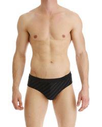 Karl Lagerfeld Costume Slip Mare Uomo In Saldo - Nero