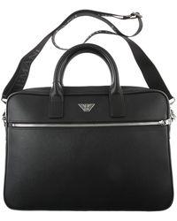 Emporio Armani Briefcase For Men - Black
