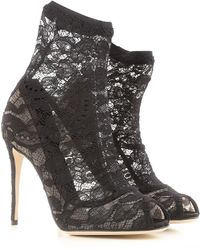 Dolce & Gabbana Shoes For Women - Black