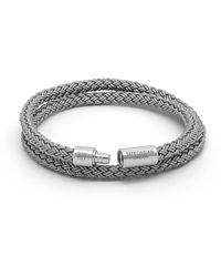 Tateossian Armband für Herren Günstig im Sale - Grau