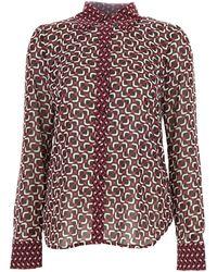 Michael Kors Purple Polyester Blouse
