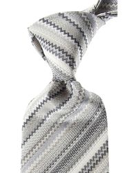 Missoni Cravates Pas cher en Soldes - Blanc