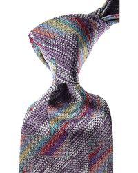 Missoni Krawatten Günstig im Sale - Lila