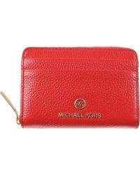 Michael Kors Porte-monnaie Femme - Rouge