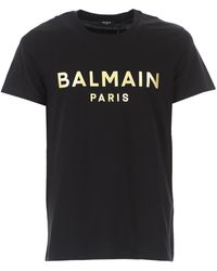 Balmain - Camiseta de Hombre Baratos en Rebajas - Lyst