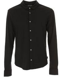 Emporio Armani - Shirt For Men - Lyst