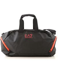 Emporio Armani Gym Bag Sports For Men - Black