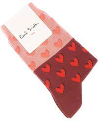 Paul Smith Socken Günstig im Sale - Pink