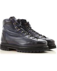 Santoni Boots For Men - Black