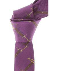 Frankie Morello Cravates Pas cher en Soldes - Violet