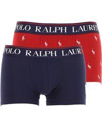 Ralph Lauren Caleçon Boxer Homme - Rouge