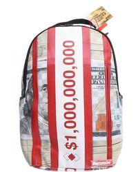 Sprayground Weekender Duffel Bag For Men - Red