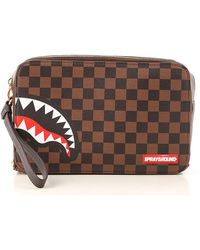Sprayground Pouches - Brown