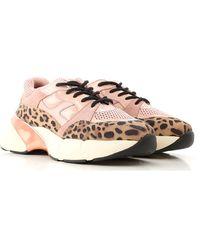 Pinko Chunky Sole Sneakers - Pink