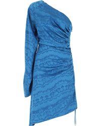 The Attico Robe Femme - Bleu