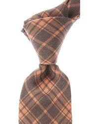Kiton Cravates Pas cher en Soldes - Gris