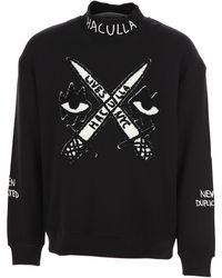 Haculla Jersey con diseño bordado - Negro