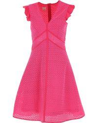 Pinko Vestido de Mujer - Rosa