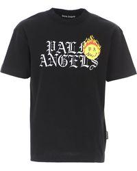 Palm Angels T-Shirt Uomo - Nero