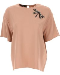Rochas - T-shirt For Women On Sale - Lyst