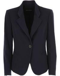 Emporio Armani - Blazer For Women On Sale - Lyst