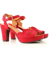 Chie Mihara Sandals On Sale - Red
