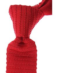 Kiton Krawatten Günstig im Sale - Rot