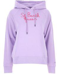 Mc2 Saint Barth Sweatshirt for Women - Violet