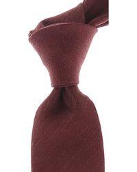 Ermenegildo Zegna Cravates Pas cher en Soldes - Violet