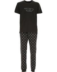 DIESEL Pajama For Men - Black