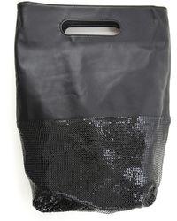 Paco Rabanne Top Handle Handbag - Black