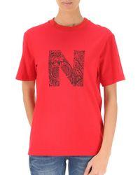 Nicopanda T-shirt For Women On Sale - Red