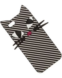 Lulu Guinness Iphone Cases - Black