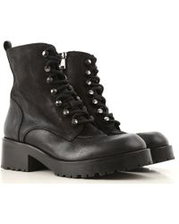 Strategia Boots For Women - Black