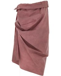 Vivienne Westwood Skirt On Sale In Outlet - Pink