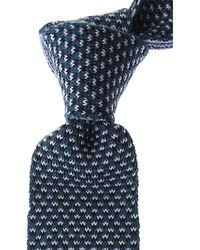 Ermenegildo Zegna Krawatten Günstig im Sale - Blau